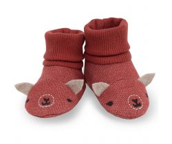 Topánočky Pinokio Happy Llama Red