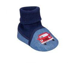 Topánočky s návlekom Yo Car Blue