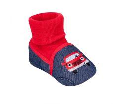 Topánočky s návlekom Yo Car Red