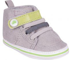 Topánočky so suchým zipsom Yo Dino Grey