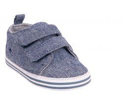 Topánočky so suchým zipsom Yo Grey