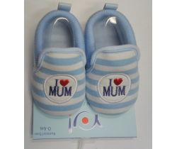 Topánočky Yo I Love Mum Blue