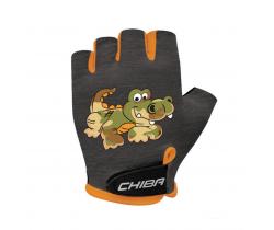 Cyklistické rukavice pre deti Chiba Cool Kids Krokodíl