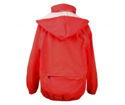 Detská bunda do dažďa Chiba Červená