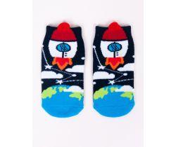Chlapčenské ponožky YO Rocket Black