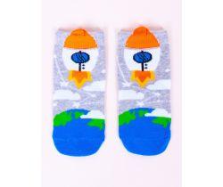 Chlapčenské ponožky YO Rocket White