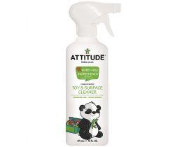 Čistiací prostriedok na detské povrch/hračky bez vônes rozprašovačom 475 ml Attitude