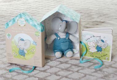 Darčekový set knižka + hračka Meiya & Alvin Deluxe