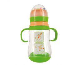 Detská fľaštička z Tritan 300 ml dBd Remond Chien s cumľom 4+ m