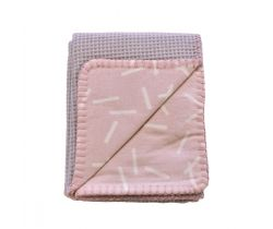 Deka 110x140 cm Lodger Dreamer Flannel/Honeycomb