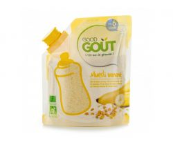 Detská banánová instantná kaše v prášku 200 g Good Gout Bio