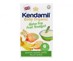 Detská bezlepková ovocná kaša 150g Kendamil Organic Bio