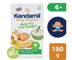 Detská bezlepková ovocná kaša 150 g Kendamil Organic Bio
