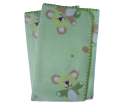 Detská deka 80x90 cm LitlleUp Green