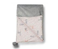 Detská deka minky 70x100 cm Glück Deer