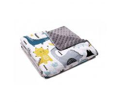 Detská deka Minky 80x100 cm Pulp