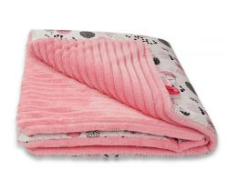 Baby Blanket 80x80 cm LittleUp Happy Animals
