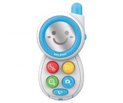 Detská hračka so zvukom Baby Mix telefonek Blue