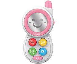 Detská hračka so zvukom Baby Mix Telefonek Pink