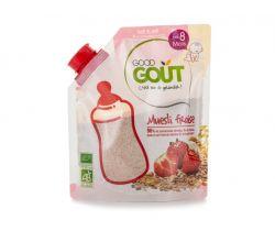 Detská jahodová instantná kaše v prášku 200 g Good Gout Bio