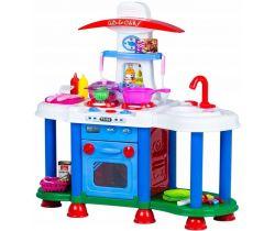Detská kuchynka so zvukmi a svetlom EcoToys Blue