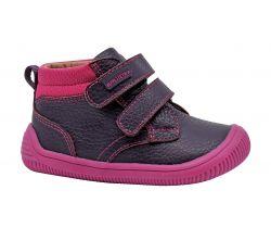 Detská barefoot obuv Protetika Fox Purple