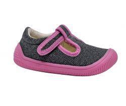 Detská barefoot obuv Protetika Kirby Pink