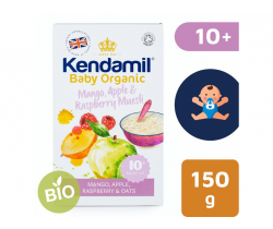 Detská ovsená kaša s ovocím 150 g Kendamil Organic Bio