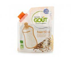 Detská ovsená, pšeničná a ryžová instantné kaša v prášku 200 g Good Gout Bio