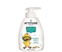 Detská pena do kúpeľa s vôňou hruškovej šťavy s pumpičkou 300 ml Attitude