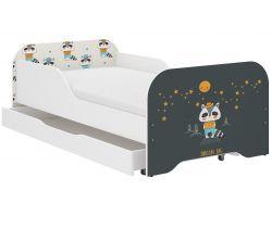 Detská posteľ so zásuvkou Wooden Toys Miki Badger