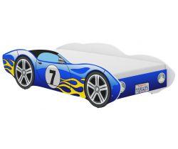 Detská posteľ Wooden Toys Corvetta Flames Blue