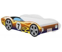 Detská posteľ Wooden Toys Corvetta Flames Chameleon