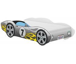 Detská posteľ Wooden Toys Corvetta Flames Grey