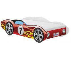 Detská posteľ Wooden Toys Corvetta Flames Red