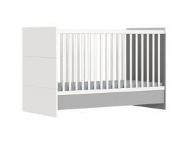 Detská variabilná postieľka 140x70 cm Faktum Alda Grey