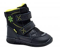 Detská zimná obuv Protetika Aston Black