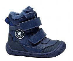 Detská zimná barefoot obuv Protetika Tarik Navy