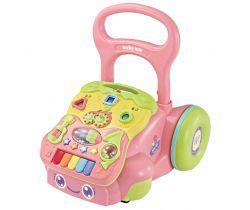 Detské hrajúci edukačné chodítko BabyMix
