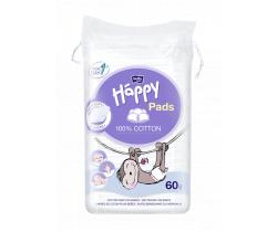 Detské kozmetické tampóny Bella Baby Happy 60 ks