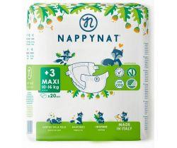 Detské plienky 8-16 kg 20 ks Nappynat Natural Care Maxi
