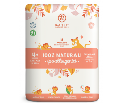 Plienky Nappynat Natural Care Maxi Plus  4+(14-25 kg) 18 ks