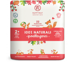 Plienky Nappynat Natural Care Midi 2 (4-10 kg) 22 ks