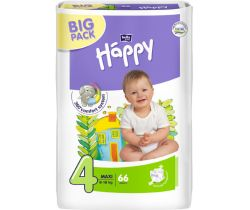 Plienky Bella Baby Happy Maxi Big Pack 4 (8-18 kg) 66 ks