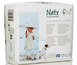 Plienky Naty Nature Babycare Maxi Plus 4+ (9-20 kg) 25 ks