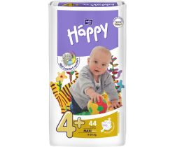 Plienky Bella Baby Happy Maxi Plus 4+ (9-20 kg) 44 ks
