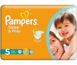 Plienky Pampers Sleep&Play Junior 5 (11-18 kg) 42 ks
