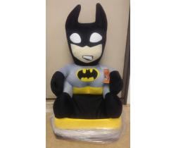 Detské plyšové kresielko Smyk 2v1 Batman