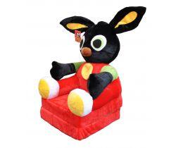 Detské plyšové kresielko Smyk 2v1 Bing Bunny