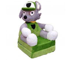 Detské plyšové kresielko Smyk 2v1 Blue Cavalier Dog